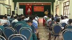 UBND phường Cam Giá, thành phố Thái Nguyên, tỉnh Thái Nguyên tổ chức Hội nghị kết luận địa bàn lập bản đồ tìm kiếm, quy tập hài cốt liệt sĩ