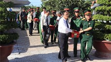 Tỉnh Bình Thuận tổ chức Lễ truy điệu và an táng 9 hài cốt liệt sĩ