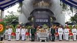 Huyện Tân Phú (tỉnh Đồng Nai) tổ chức Lễ truy điệu và an táng 9 hài cốt liệt sĩ