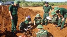 Tỉnh Quảng Trị tìm kiếm và quy tập được 18 hài cốt liệt sĩ tại khu vực Dốc Miếu (huyện Gio Linh)