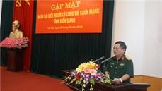 Bộ Quốc phòng gặp mặt Đoàn đại biểu Người có công với cách mạng tỉnh Kiên Giang