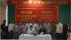 Hội đàm triển khai thực hiện nhiệm vụ tìm kiếm, quy tập hài cốt liệt sĩ hy sinh trên đất bạn Lào mùa khô năm 2018 - 2019