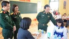 Bệnh viện Trung ương Quân đội 108 khám bệnh, cấp thuốc miễn phí tại xã Tú Thịnh, huyện Sơn Dương, tỉnh Tuyên Quang