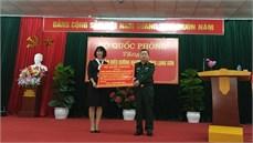 Bộ Quốc phòng trao trang thiết bị dùng chung tặng Trung tâm Điều dưỡng Người có công tỉnh Lạng Sơn