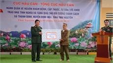 Cục Hậu cần/Tổng cục Hậu cần tổ chức chương trình hành quân về nguồn, tri ân các đối tượng chính sách tại huyện Định Hóa, tỉnh Thái Nguyên