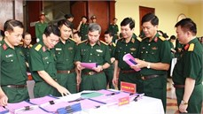 Đẩy mạnh cải cách hành chính, góp phần nâng cao chất lượng, hiệu quả công tác đảng, công tác chính trị trong Quân đội