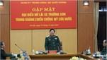 Quân ủy Trung ương - Bộ Quốc phòng gặp mặt đại biểu nữ lái xe Trường Sơn trong kháng chiến chống Mỹ cứu nước