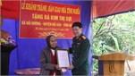 Quân khu 3 bàn giao 02 nhà tình nghĩa tặng đối tượng chính sách trên địa bàn huyện Hải Hậu, tỉnh Nam Định