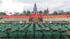Tỉnh Điện Biên tổ chức Lễ truy điệu và an táng 30 hài cốt liệt sĩ hy sinh tại nước bạn Lào trong các thời kỳ chiến tranh
