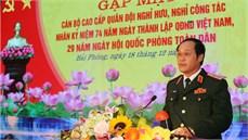 Bộ Tư lệnh Quân khu 3 gặp mặt cán bộ cao cấp Quân đội nghỉ hưu, nghỉ công tác trên địa bàn