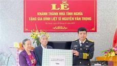 Lữ đoàn 602, Bộ Tham mưu Hải quân tổ chức Lễ khánh thành và bàn giao nhà tình nghĩa tặng đối tượng chính sách trên địa bàn xã Nhật Tựu, huyện Kim Bảng, Tỉnh Hà Nam