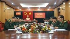 Đảng ủy Cục Chính sách/TCCT tổ chức Hội nghị phiên cuối năm 2018