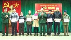 Ban CHQS huyện Thanh Thủy/Bộ CHQS tỉnh Phú Thọ chi trả trợ cấp đối với đối tượng được hưởng chế độ theo Quyết định số 49/2015/QĐ-TTg của Thủ tướng Chính phủ