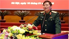 Quân ủy Trung ương - Bộ Quốc phòng gặp mặt đại biểu cán bộ cao cấp Quân đội nghỉ hưu, nghỉ công tác khu vực phía Bắc