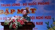 Quân ủy Trung ương - Bộ Quốc phòng gặp mặt đại biểu cán bộ cao cấp Quân đội nghỉ hưu, nghỉ công tác khu vực phía Nam