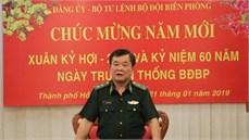 Bộ Tư lệnh Bộ đội Biên phòng gặp mặt, chúc Tết các cán bộ nguyên lãnh đạo Bộ Tư lệnh, Bộ Tham mưu và các Cục đã nghỉ hưu, nghỉ công tác khu vực phía Nam