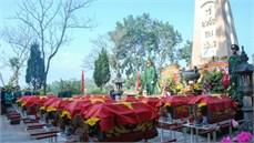 Tỉnh Quảng Ninh tổ chức Lễ truy điệu và an táng hài cốt liệt sĩ hy sinh thời kỳ chống Pháp tại nhà tù Khe Tù huyện Tiên Yên, tỉnh Quảng Ninh