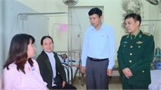 Cục Chính trị Bộ đội Biên phòng thăm, tặng quà gia đình chính sách