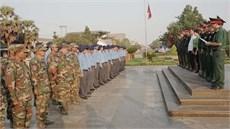 Đội K70/Cục Chính trị Quân khu 7 và Đội K71/Bộ CHQS tỉnh Tây Ninh lên đường thực hiện nhiệm vụ tìm kiếm, quy tập hài cốt liệt sĩ tại Campuchia