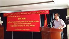 Triển khai thực hiện chế độ, chính sách đối với người Việt Nam có công với cách mạng đang định cư tại Lào