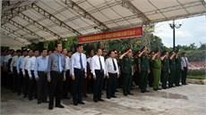 Tỉnh Quảng Bình tổ chức Lễ truy điệu và an táng 17 hài cốt liệt sĩ  được tìm kiếm, quy tập tại Lào trong mùa khô 2018 - 2019