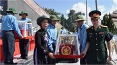 Tỉnh Kon Tum tổ chức Lễ truy điệu và an táng 14 hài cốt liệt sĩ