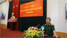 Bộ Quốc phòng gặp mặt Đoàn đại biểu Người có công với cách mạng  tỉnh Đắk Nông