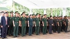 Tỉnh Gia Lai tổ chức Lễ truy điệu và an táng 17 hài cốt liệt sĩ