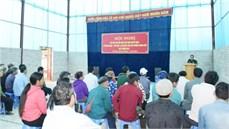 Ban CHQS huyện Bắc Hà/Bộ CHQS tỉnh Lào Cai tổ chức trao Giấy chứng nhận và chi trả trợ cấp một lần theo Quyết định số 49/2015/QĐ-TTg của Thủ tướng Chính phủ