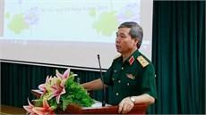 Đoàn công tác Bộ Quốc phòng đến thăm và trao trang thiết bị y tế tặng Làng Hữu nghị Việt Nam