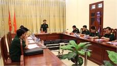 Cục Chính sách/Tổng cục Chính trị làm việc tại một số cơ quan, đơn vị thuộc Quân khu 1