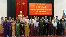 Bộ Quốc phòng gặp mặt Đoàn đại biểu Người có công với cách mạng tỉnh Thừa Thiên Huế
