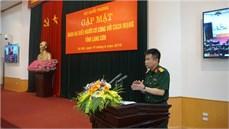 Bộ Quốc phòng gặp mặt Đoàn đại biểu Người có công với cách mạng tỉnh Lạng Sơn