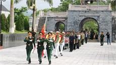 Tỉnh Điện Biên tổ chức Lễ truy điệu và an táng 12 hài cốt liệt sĩ
