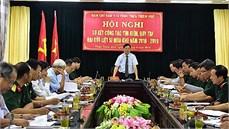 Ban Chỉ đạo 515 tỉnh Thừa Thiên Huế tổ chức Hội nghị sơ kết công tác tìm kiếm, quy tập hài cốt liệt sĩ mùa khô 2018 - 2019