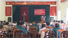 Huyện Đông Anh, thành phố Hà Nội tổ chức Hội nghị tổng kết thực hiện chế độ, chính sách đối với dân công hỏa tuyến theo Quyết định 49/2015/QĐ-TTg của Thủ tướng Chính phủ