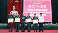 Tỉnh Phú Thọ tổng kết thực hiện chế độ, chính sách đối với dân công hỏa tuyến theo Quyết định 49/2015/QĐ-TTg của Thủ tướng Chính phủ