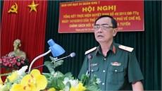 Quân khu 7 tổng kết thực hiện chế độ, chính sách đối với dân công hỏa tuyến theo Quyết định 49/2015/QĐ-TTg của Thủ tướng Chính phủ