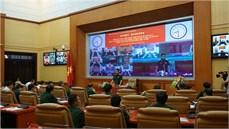 Ban Chỉ đạo 24 Bộ Quốc phòng tổ chức Hội nghị trực tuyến toàn quốc tổng kết thực hiện Quyết định số 49/2015/QĐ-TTg ngày 14/10/2015 của Thủ tướng Chính phủ về một số chế độ, chính sách đối với dân công hỏa tuyến
