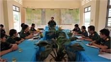 Bộ Tư lệnh Quân khu 7 thăm, làm việc  với Đội K71 và Đội K72