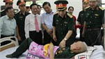 Bộ Tổng Tham mưu thực hiện có hiệu quả chính sách hậu phương Quân đội và các hoạt động Đền ơn đáp nghĩa