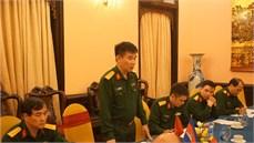 Cục Chính sách, Tổng cục Chính trị QĐND Việt Nam tổ chức hội nghị trao đổi kinh nghiệm thực hiện chính sách  với Đoàn Nghiên cứu, Bộ Tổng Tư lệnh Quân đội Hoàng gia Campuchia