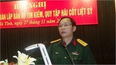Ban Chỉ đạo 515 tỉnh Hà Tĩnh tổ chức Hội nghị Kết luận địa bàn  lập bản đồ tìm kiếm, quy tập hài cốt liệt sĩ