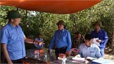 Ban Chỉ đạo 515 Quân khu 4 kiểm tra nhiệm vụ tìm kiếm, quy tập  hài cốt liệt sĩ tại Lào