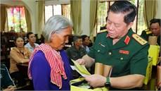 Tổng cục Chính trị tổ chức các hoạt động Đền ơn đáp nghĩa tại tỉnh Bình Phước