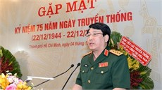 Tổng cục Chính trị Quân đội nhân dân Việt Nam gặp mặt đại biểu cán bộ cao cấp Quân đội nghỉ hưu, nghỉ công tác khu vực phía Nam