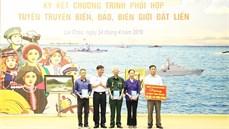 Quân chủng Hải quân tiếp tục thực hiện có hiệu quả công tác chính sách đối với Quân đội, hậu phương Quân đội và các hoạt động Đền ơn đáp nghĩa