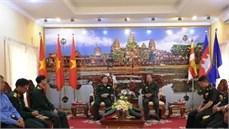 Bộ Tư lệnh Quân khu 5 (Việt Nam) thăm,  làm việc với Bộ Tư lệnh Quân khu 1 (Quân đội Hoàng gia Campuchia) và chúc Tết các Đội tìm kiếm, quy tập hài cốt liệt sĩ