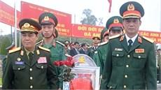 Tỉnh Điện Biên tổ chức Lễ truy điệu và an táng hài cốt liệt sĩ