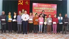 Các cơ quan, đơn vị thuộc Bộ Tư lệnh Cảnh sát biển thăm, tặng quà các gia đình chính sách
